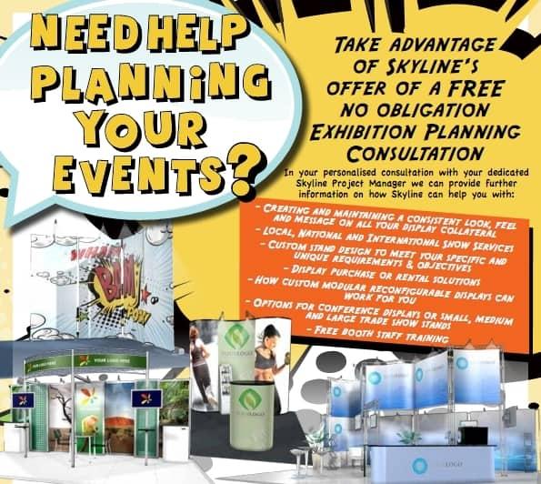Free Exhibition Planning Consultation