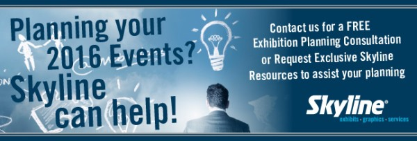 Can we Help with Your Next Exhibition Stand or Event in 2016?