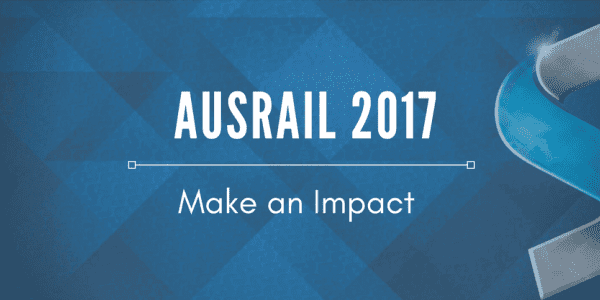 Trimble and Beena Vision at AusRAIL Plus 2017