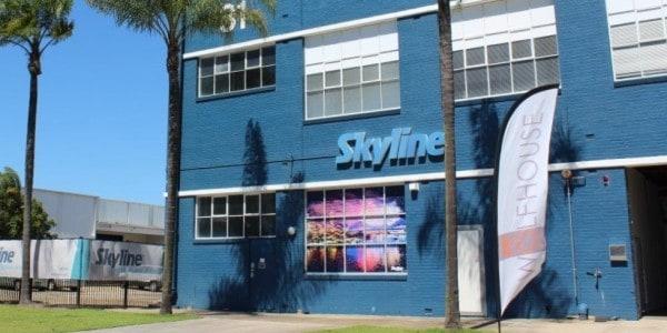 Brightening up the Skyline Premises!