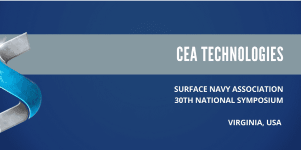 CEA Technologies at the Surface Navy Association 30th National Symposium