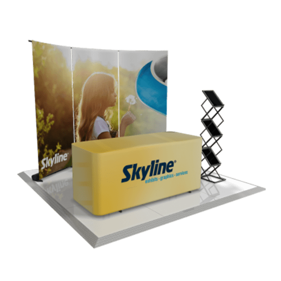 Portable Exhibition Display : Portable displays skyline trade show and exhibition display