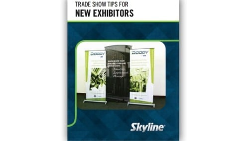Skyline Giveaway: Trade Show Tips for New Exhibitors White Paper