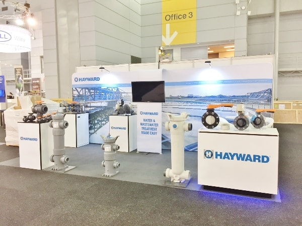 Hayward Flow Control Attends Ozwater 2018