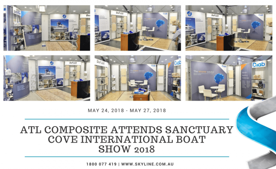 ATL Composite Attends Sanctuary Cove International Boat Show 2018