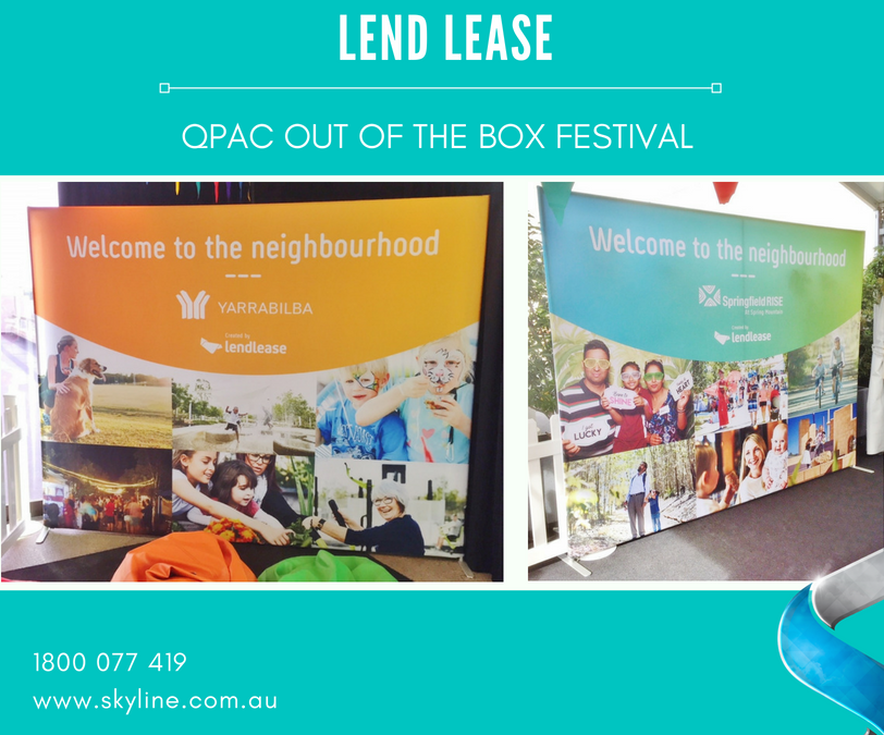 Lend Lease at QPAC Out of the Box Festival
