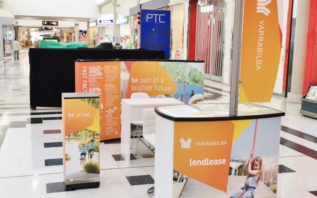Lend Lease Turning Heads With its Retail Space Display