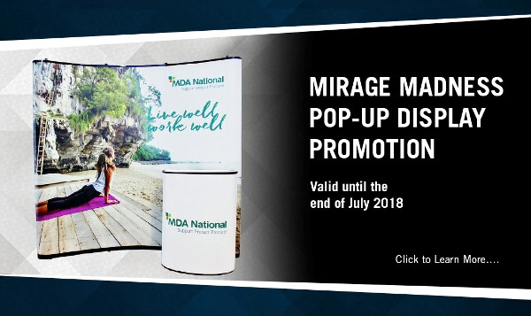 Mirage Madness Pop-Up Display Promotion
