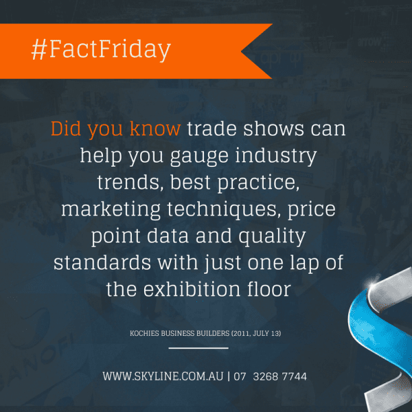 #FactFriday – Trade Show Value