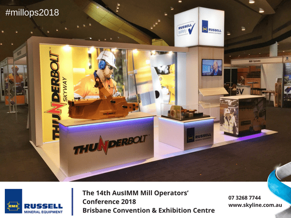 Russell Mineral Attends the 14th AusIMM Mill Operators' Conference 2018