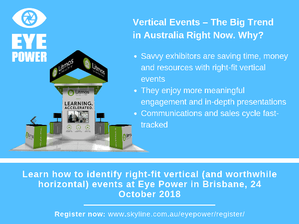 #FactFriday – Vertical Events – The Big Trend in Australia Right Now