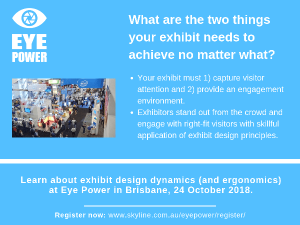 #FactFriday – What Are The Two Things Your Exhibit Needs To Achieve No Matter What?