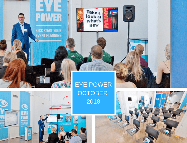 Eye Power Wrap Up – October 2018