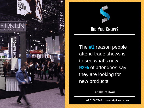 #FactFriday – The #1 Reason for Exhibitors Attending Trade Shows