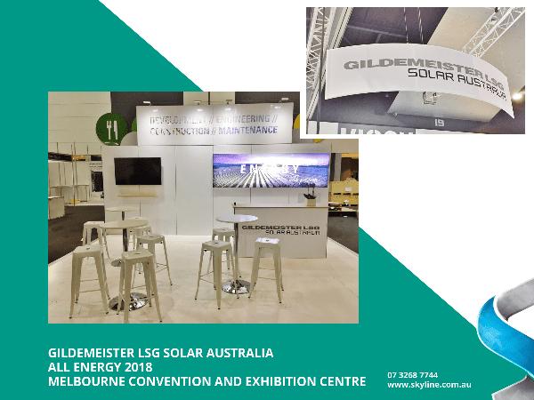 Gildemeister LSG Solar Australia Attends All Energy 2018