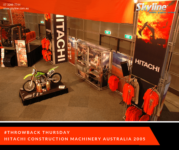 #Throwback Thursday – Hitachi Construction Machinery 2005