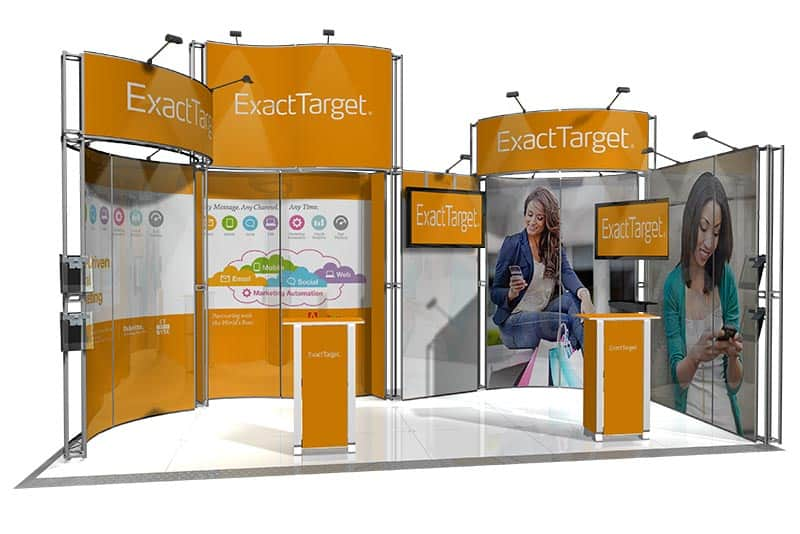 Exhibition Stand Lighting Qld : Portable display stand