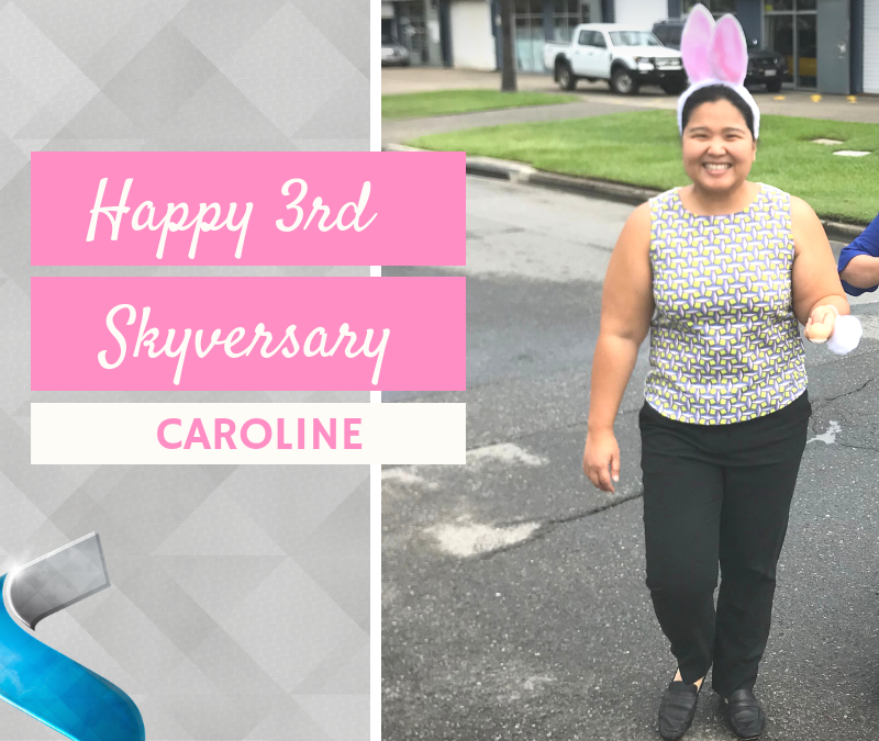 Happy Skyversary Caroline!