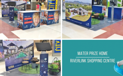Mater Prize Home at Riverlink Shopping Centre