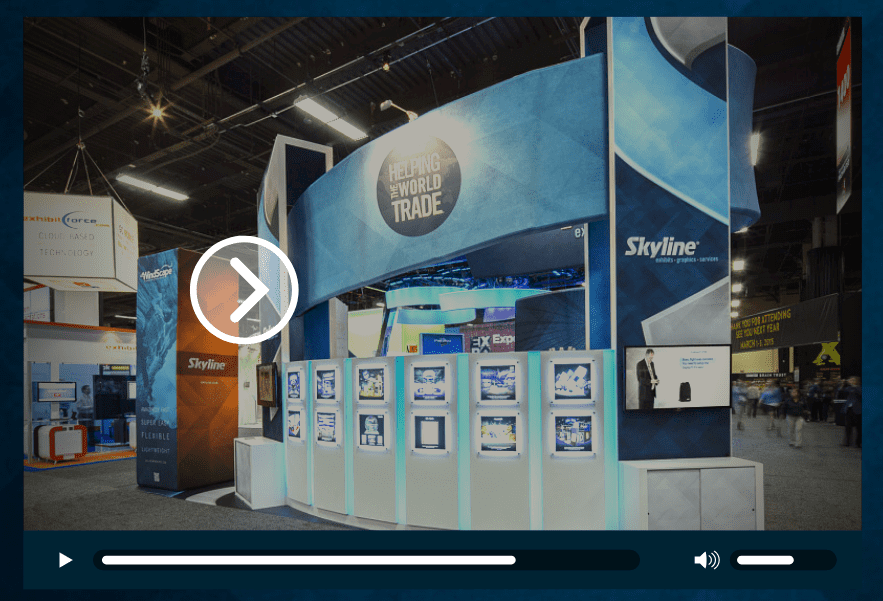 Trade Show Booth Objectives : Two key objectives when designing a trade show booth skyline