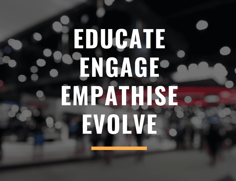 The 4 E's of Trade Shows