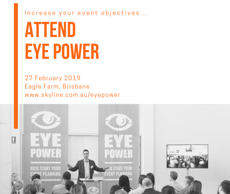 Time is ticking to register for Eye Power!