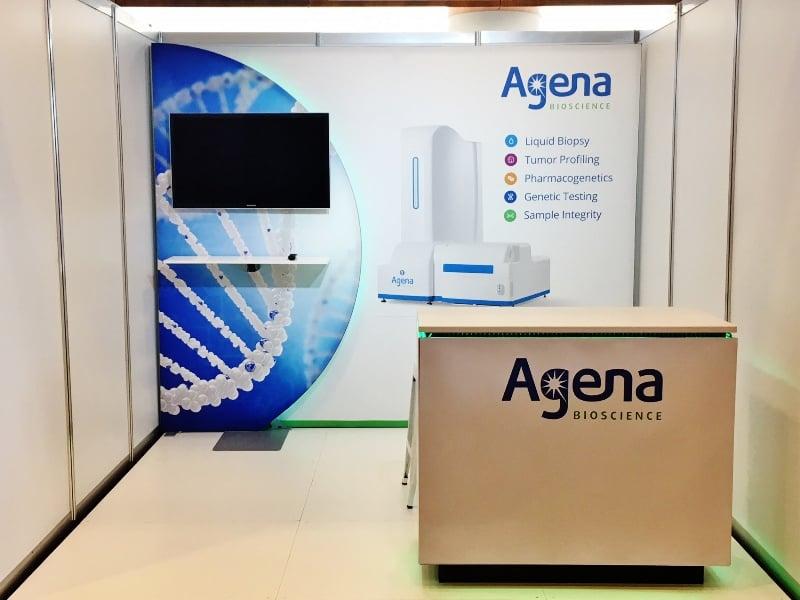 Agena Bioscience - Exhibition Display