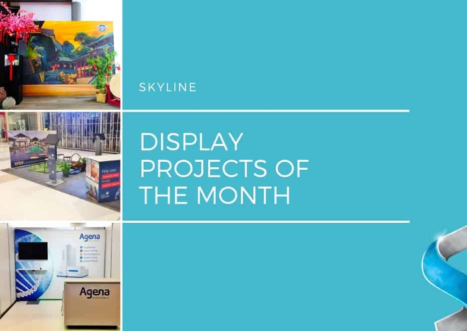 Display Projects of the Month: March 2019