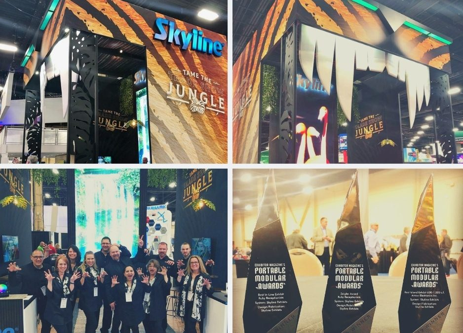 Skyline Exhibits Comes Out On Top at ExhibitorLive!