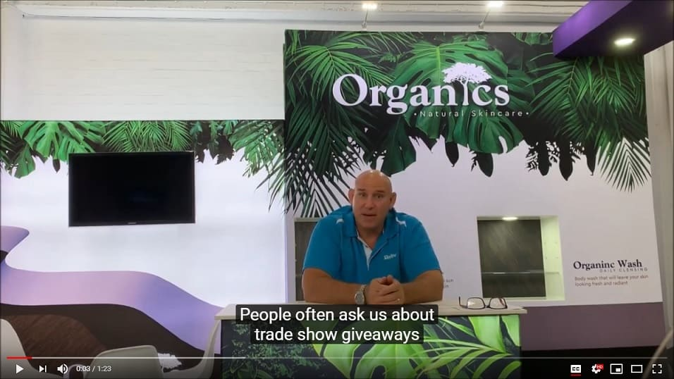Keys to Choosing the Perfect Trade Show Giveaway