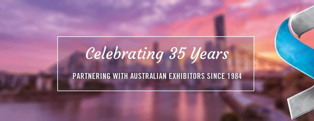 Skyline Celebrates 35 Years in the Australian Exhibition Industry!