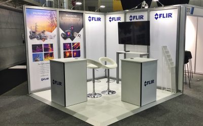 Flir Display Stand at APPEA
