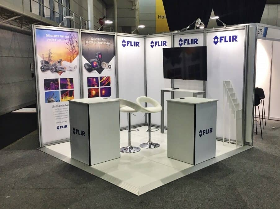 Tube Display for FLIR at APPEA 2019