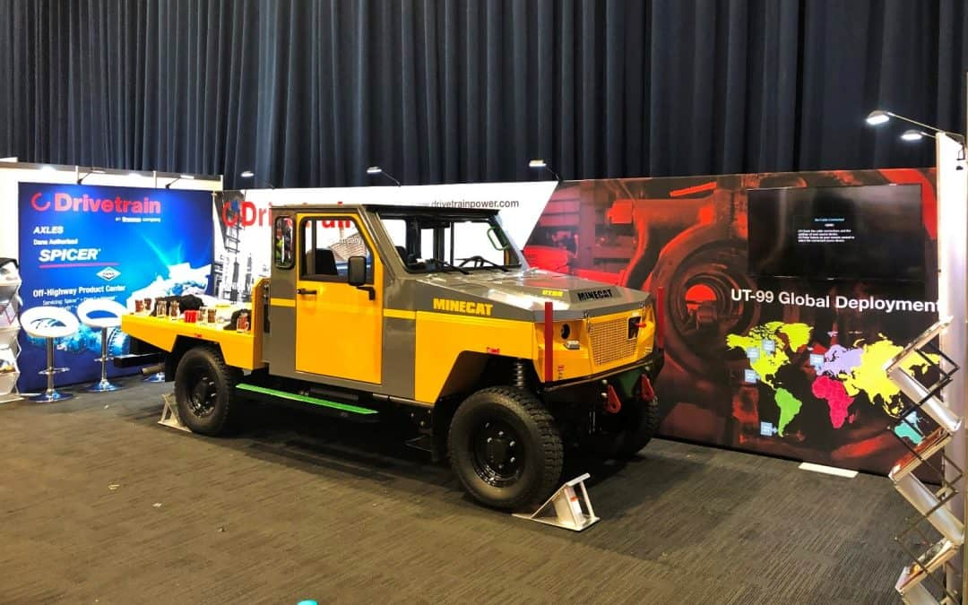 Drivetrain Exhibit Display at Austmine 2019
