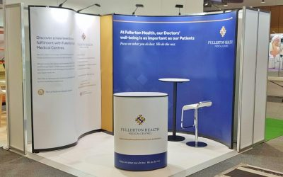 Fullerton Health at GPCE Sydney - Conference Display