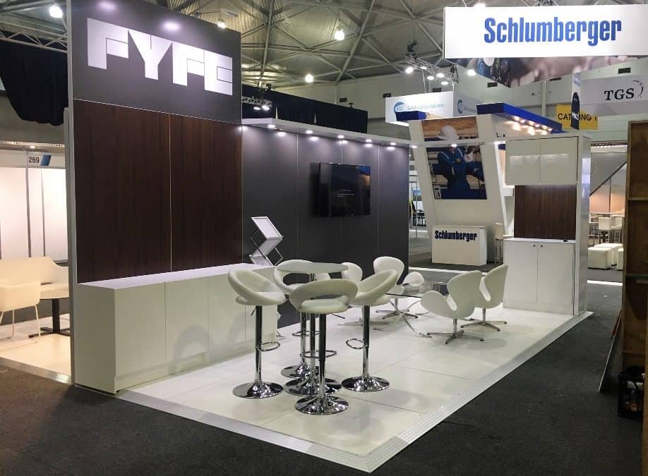 FYFE Custom Display Booth at APPEA 2019