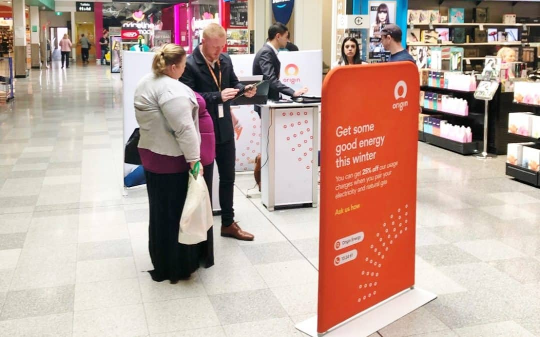 Origin Energy Shopping Centre Display Activation