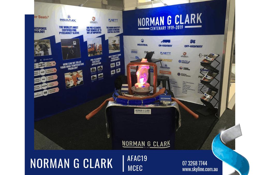 Norman G Clark Attends AFAC 2019