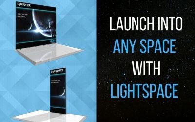 LightSpace Exhibit Display Promotion