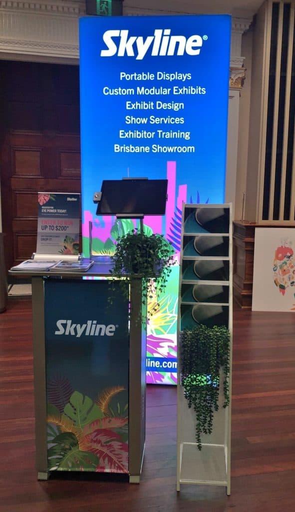 Brisbane Pop Up Show Skyline Display
