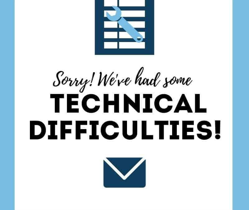 Skyline Technical Difficulties: Now Resolved