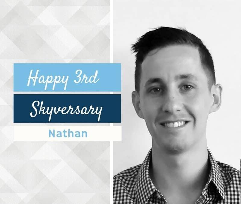 Happy 3rd Skyversary Nathan!