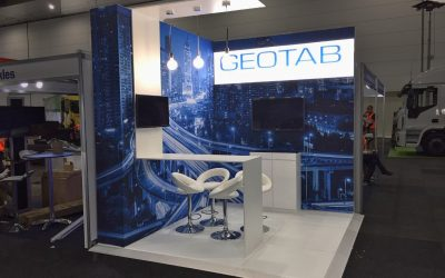 Geotab at National Road and Traffic Expo - Skyline Displays Australia