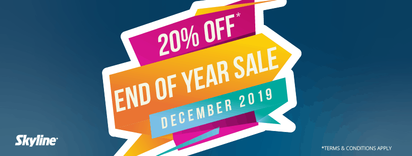 End Of Year Sale – 20% Off This December!
