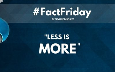 Less is more #Fact Friday
