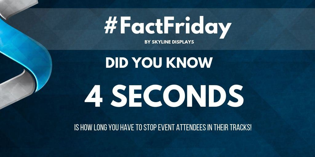#FactFriday – 4 Seconds for Attention