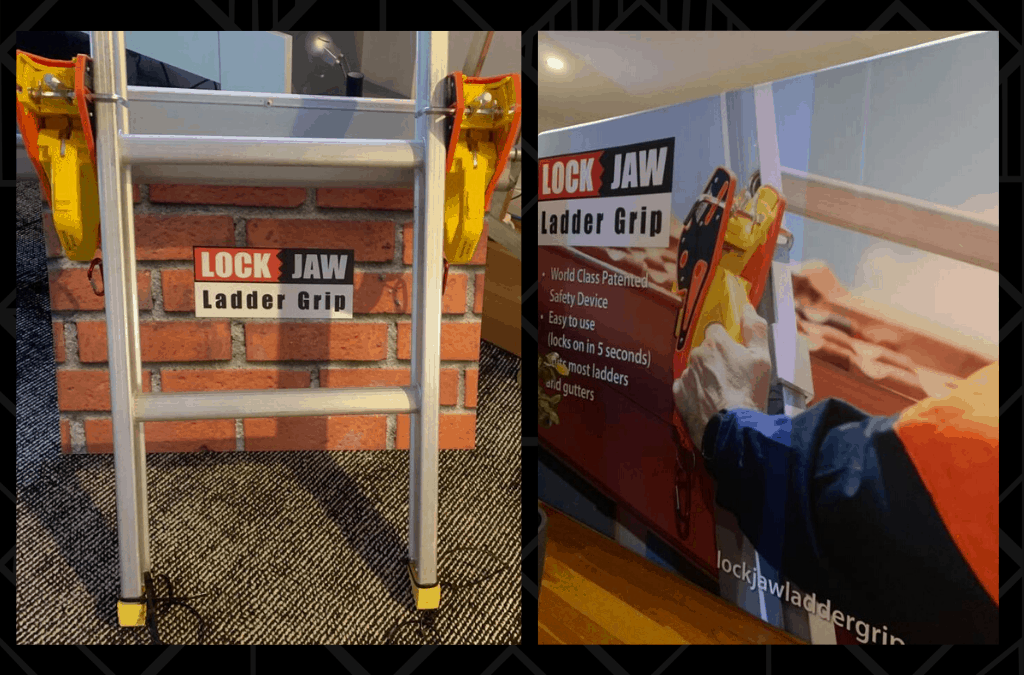 Lock Jaw Ladder Grip is Headed to Dallas!