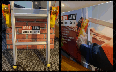 Lock Jaw Ladder Grip is Headed to Dallas!