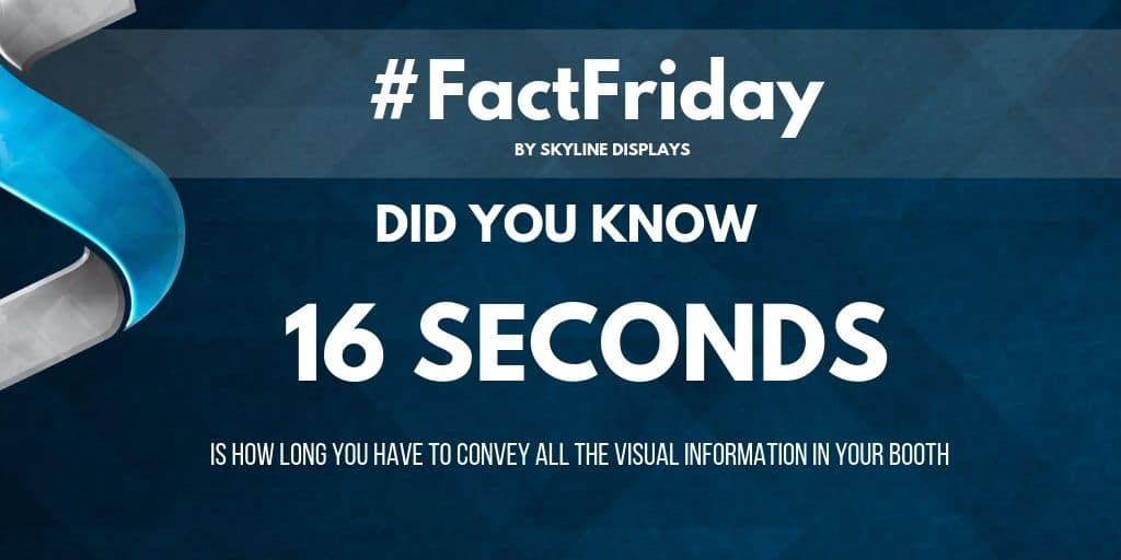 #FactFriday – You Only 16 Seconds!