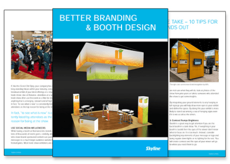 Skyline Giveaway: Better Branding & Booth Design White Paper
